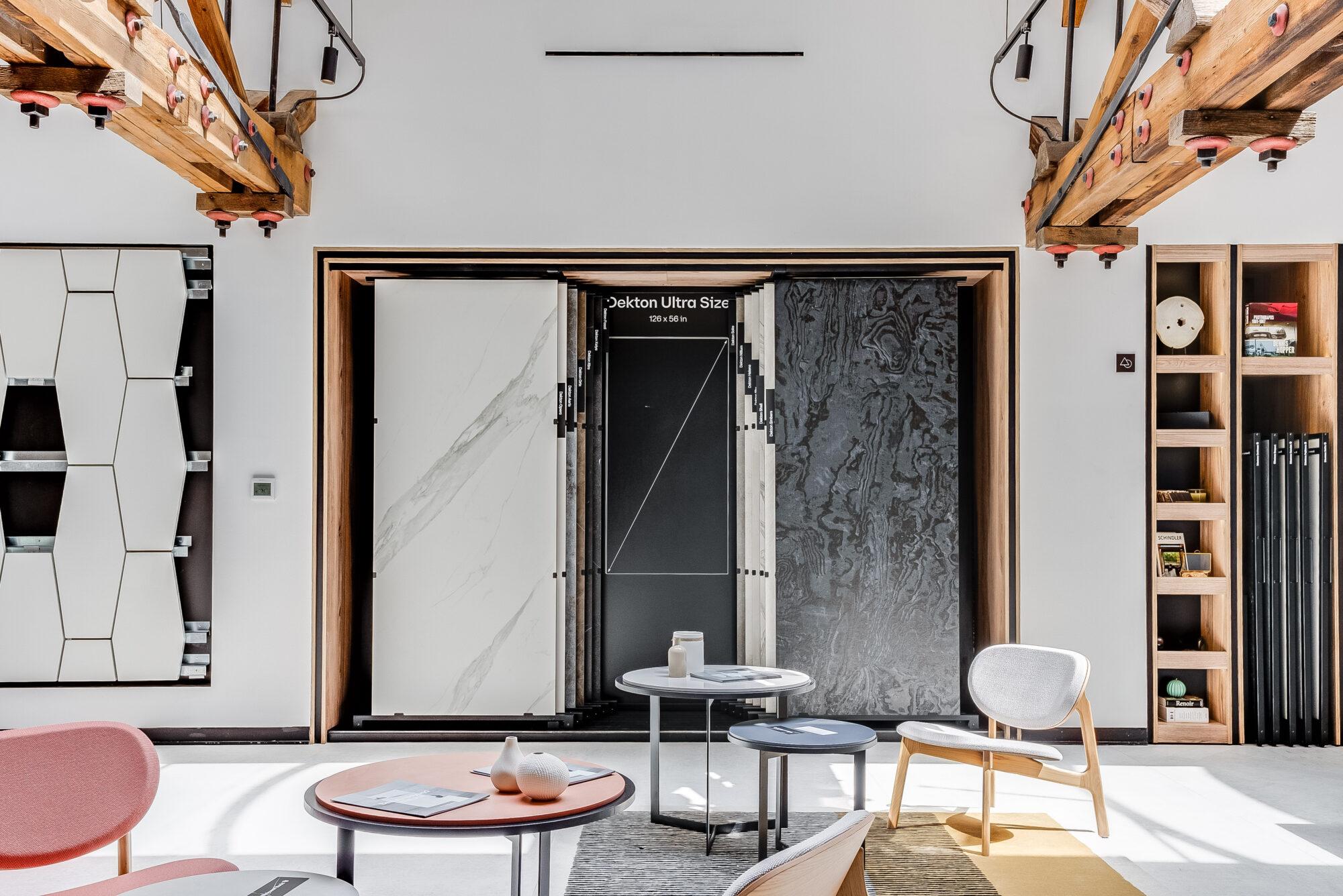 cosentino city showroom interiors