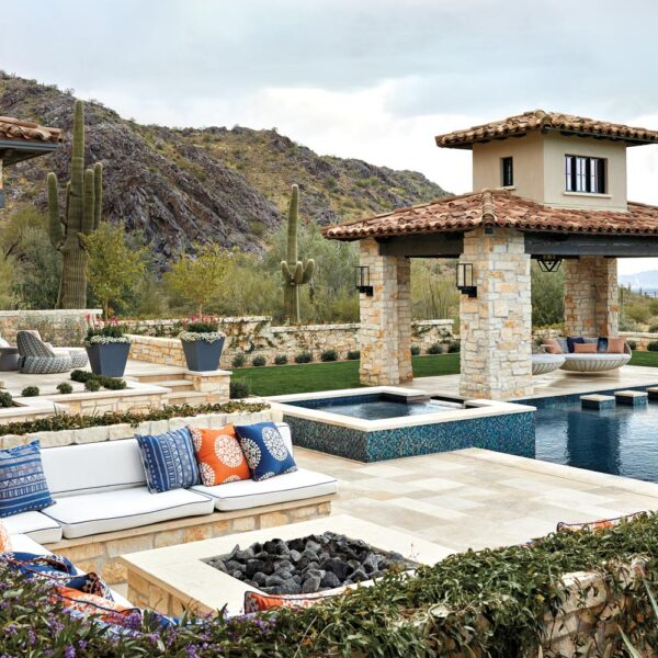 Say 'Hello' To Resort-Style Living At This Desert Mediterranean Home