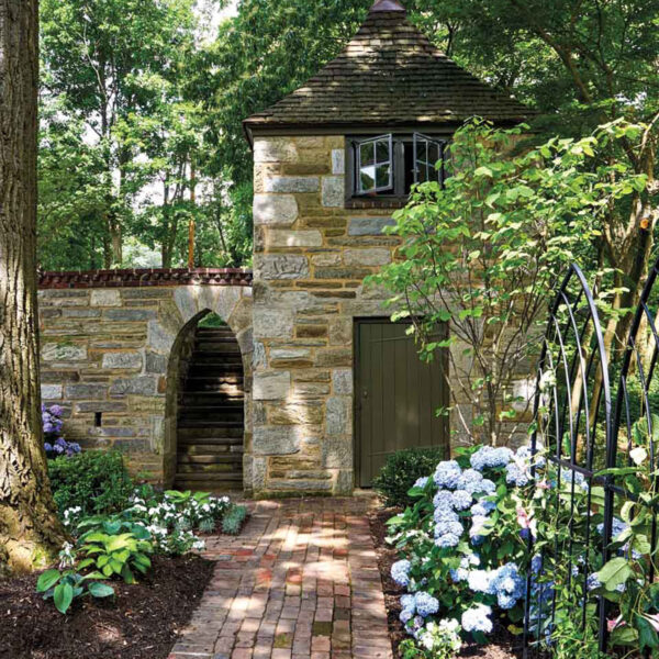 Behind The Fairy Tale-Like Gardens Of This Country Home