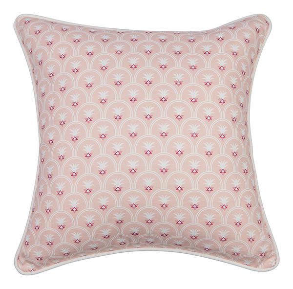pastel pink pillow