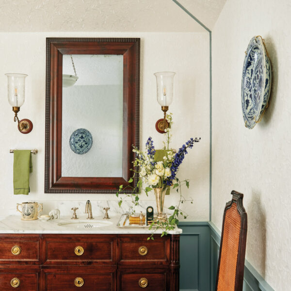 Invest In The Details: How A Maryland Home's Kitchen + Bath Kept A Historic Vibe