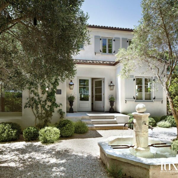 Fall For The Romantic Look Of An L.A. Gem That Channels Provence