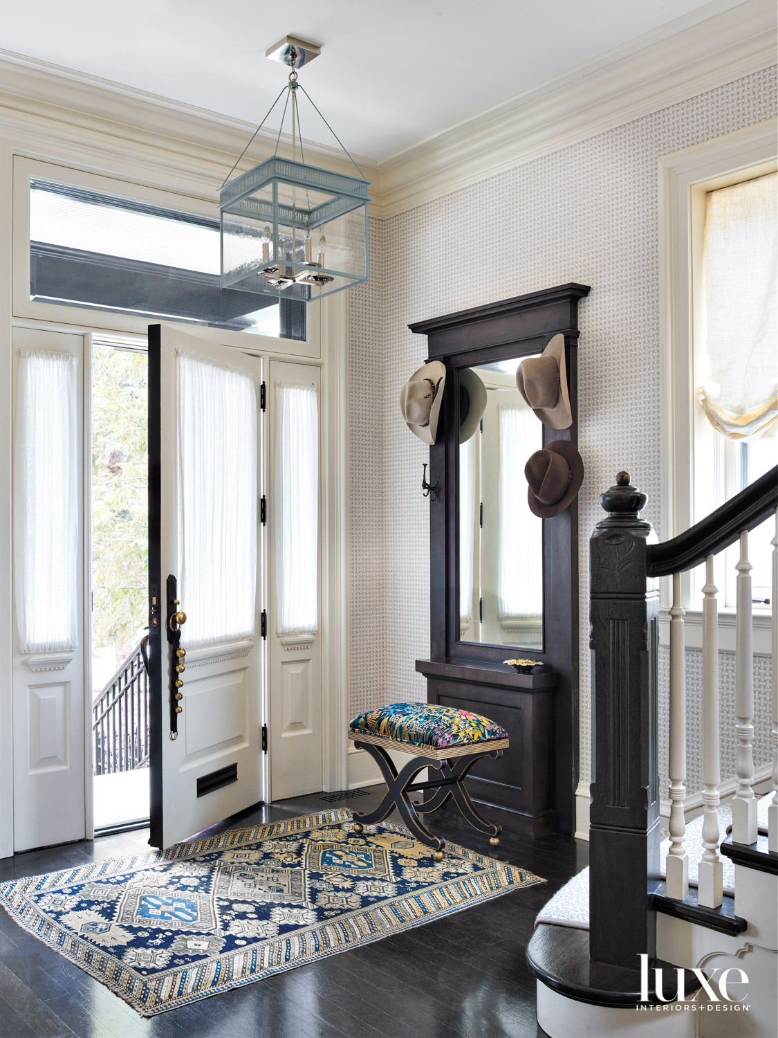 An entryway that leads to...