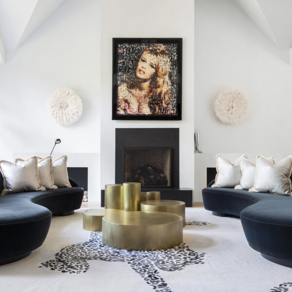 Bring On The Bling: An Aspen Home Gets A Dose Of Movie Star Glam