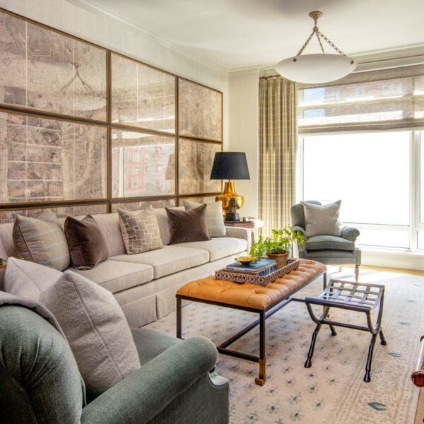 It's All NeoTrad Glamour At This Actor's Posh Manhattan Pied-à-Terre