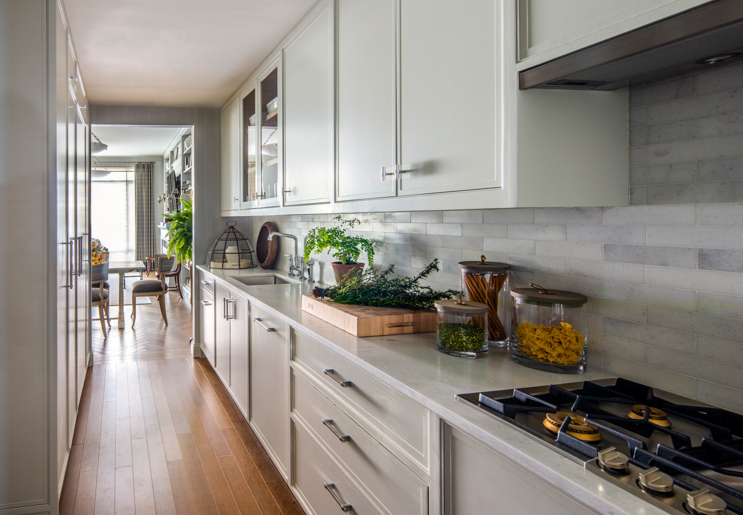 moonshine cabinetry in kitchen