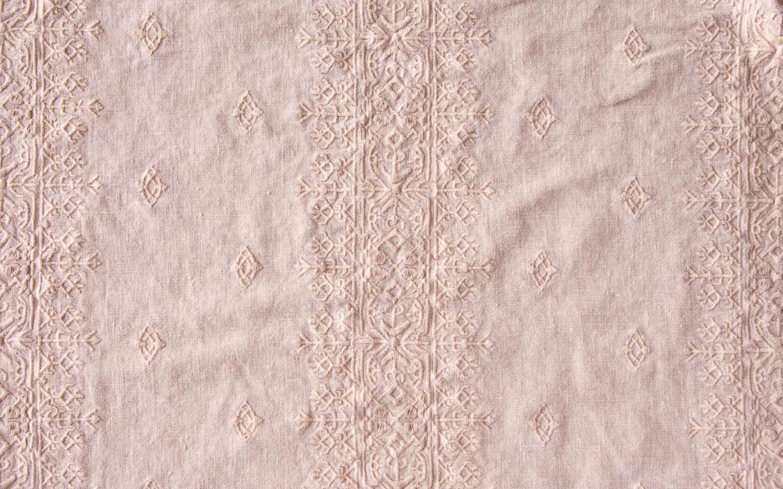 pastel pink guest towel