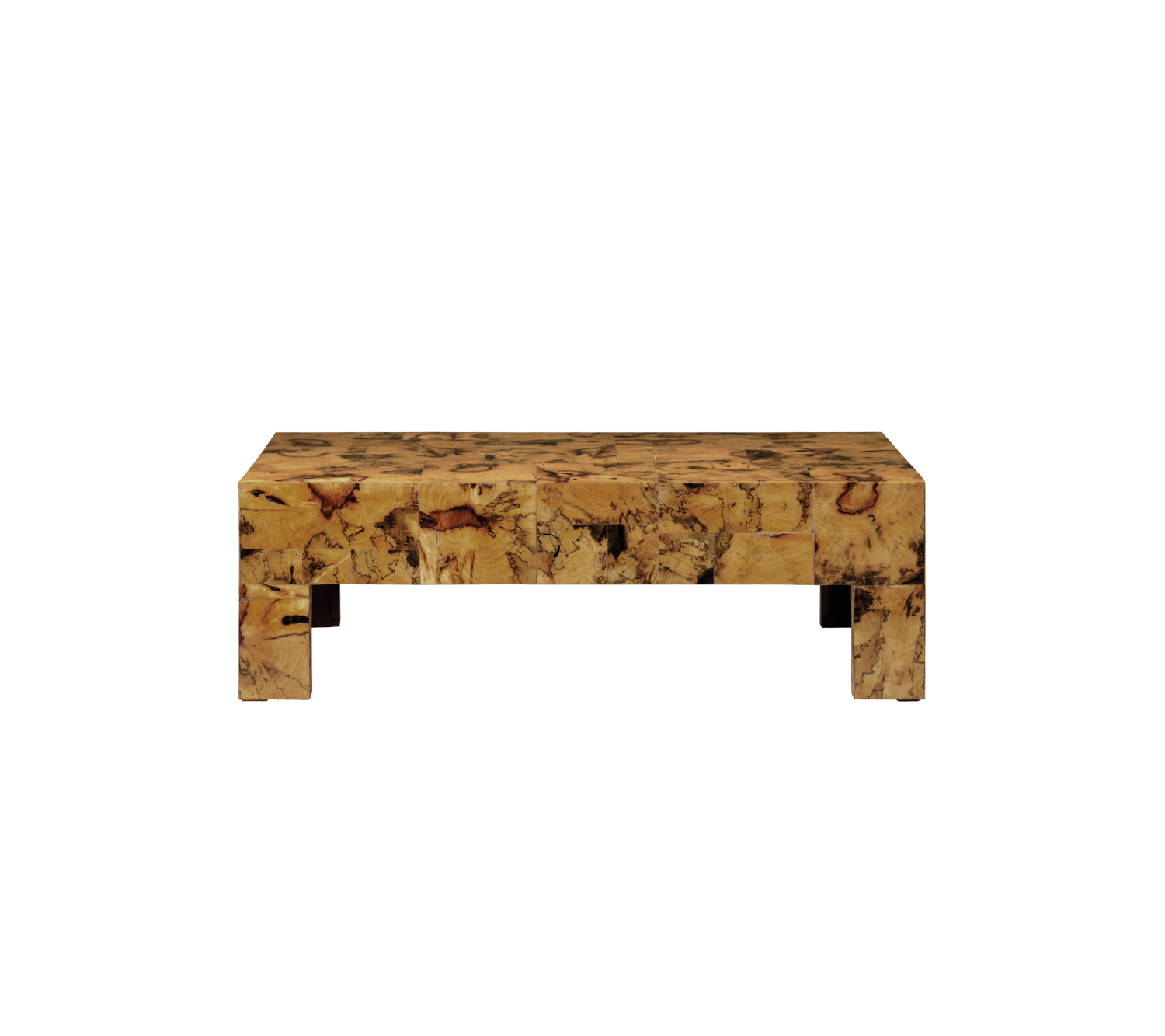 gold marbleized coffee table