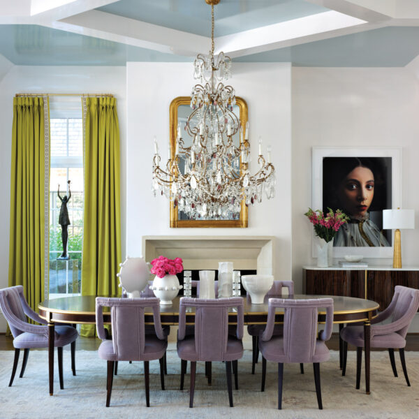 Fall Head Over Heels For The Glam Moments In This Grand Atlanta Manse