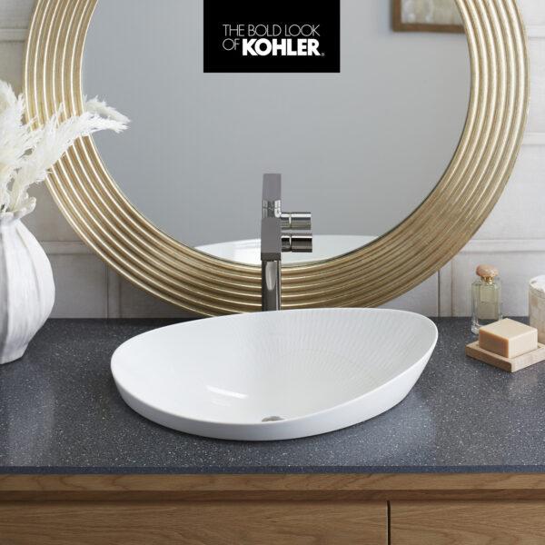 The 18.02 Sink Has A Dynamic Pattern By Janet Echelman