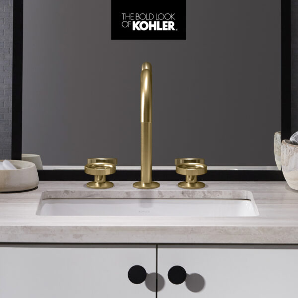 Vibrant Brushed Moderne Brass Embodies Timeless Style