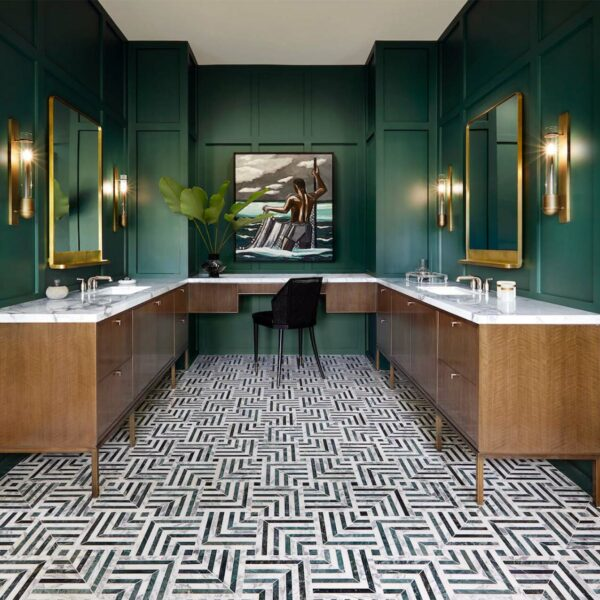 6 Designers Reveal What's Hot In Bathroom Color Trends